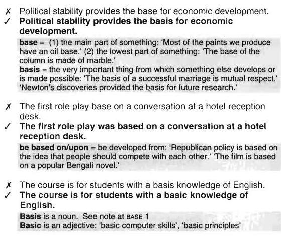 base-basis-basic