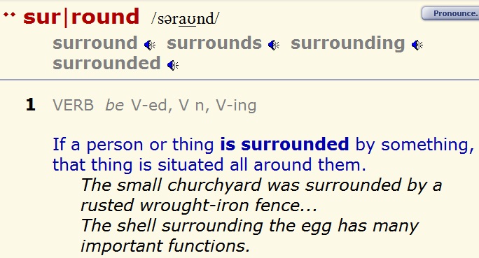 Адаптированный английский - surround