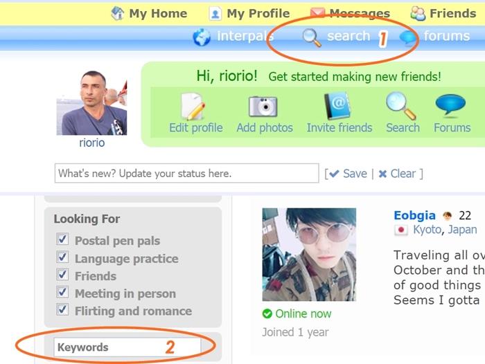 где искать друзей по переписке на английском